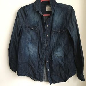 Old Navy Denim shirt